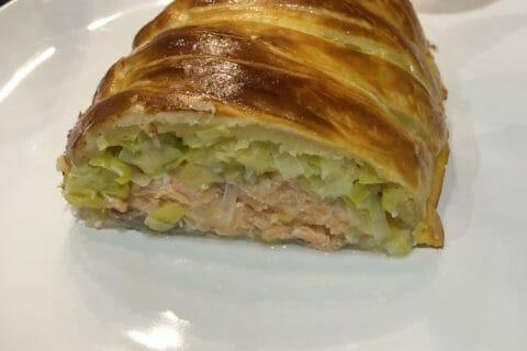 Feuilleté saumon et poireaux Thermomix par Gaelle_77
