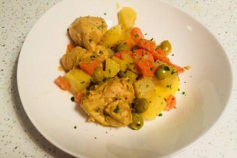 Tajine de poulet aux olives Thermomix par Michou26