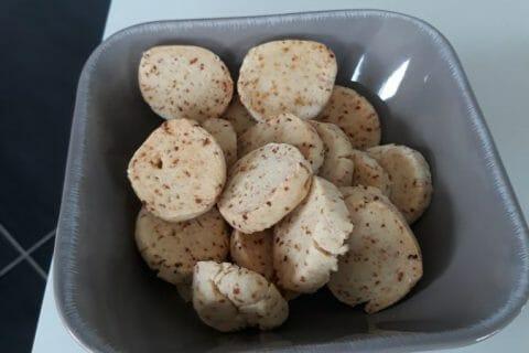 Biscuits apéritif crème et oignon Thermomix par Emeline Durand