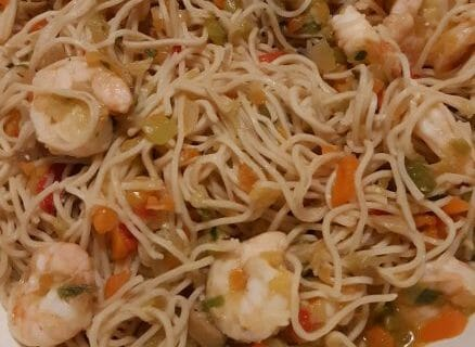 Nouilles chinoises Thermomix par cycy