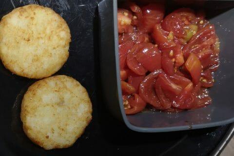 Roulé à la tomate, saumon et fromage au Thermomix