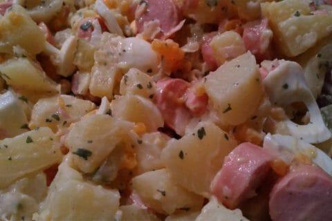 Salade strasbourgeoise Thermomix par soleil13
