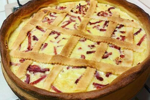 Zwiebelkuchen – gâteau aux oignons au Thermomix