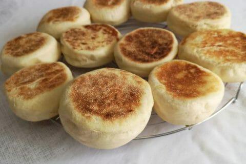 Muffins anglais Thermomix par Les 3 mousquetaires 77
