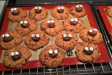 Spider cookies (cookies araignées) Thermomix par apericube86