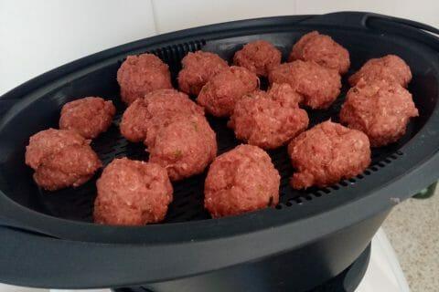 Boulettes de viandes à la sauce tomate au Thermomix