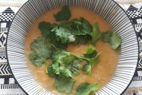 Soupe thaï crevettes et lait de coco au Thermomix