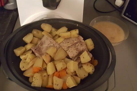 Roti de porc sauce échalote Thermomix par Anmari
