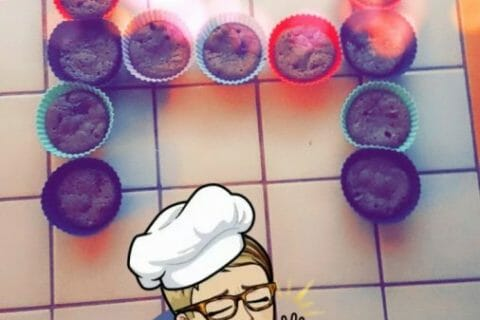 Muffins aux deux chocolats Thermomix par Lauryta