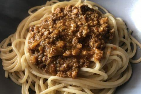 Spaghettis bolognaise Thermomix par Nadia_14