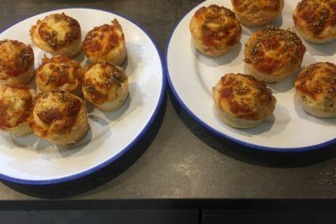 Muffins salés façon pizza Thermomix par fabiola38450