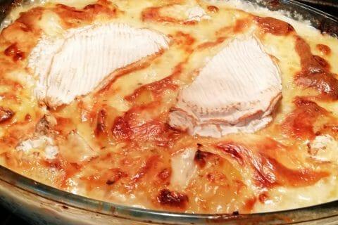 Gratin de pommes de terre à la normande au Thermomix