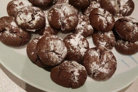 Craquelés au chocolat Thermomix par Fredou73