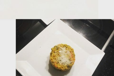 Riz safrané aux petits légumes au Thermomix