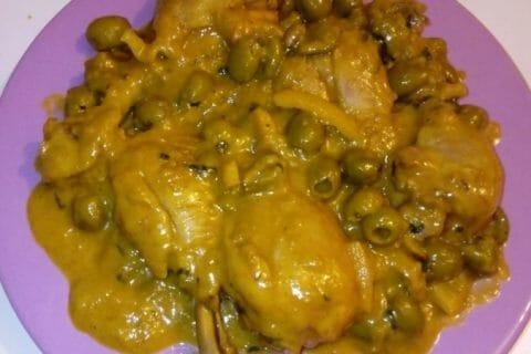 Tajine de poulet aux olives Thermomix par UmmSara