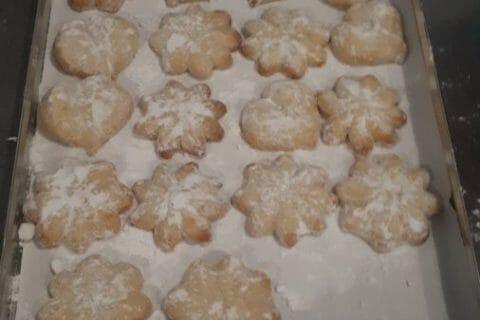 Biscuits fondants  au citron vert Thermomix par Aurelie2016
