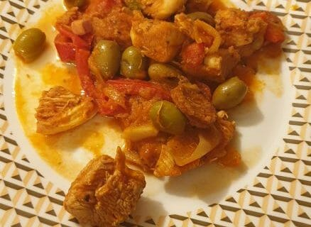 Sauté de poulet au chorizo au Thermomix