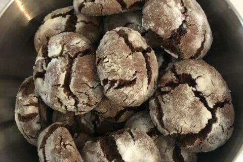 Craquelés au chocolat Thermomix par Liilii