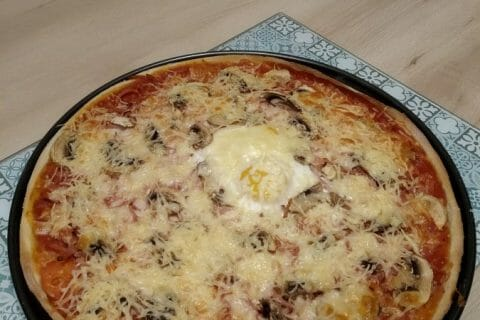 Pizza Reine Thermomix par miimiie