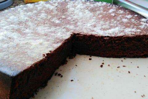 Gâteau macaroné au chocolat Thermomix par Alexs25