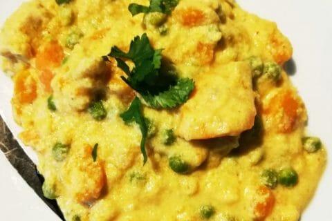 Curry de poulet aux patates douces Thermomix par crousti