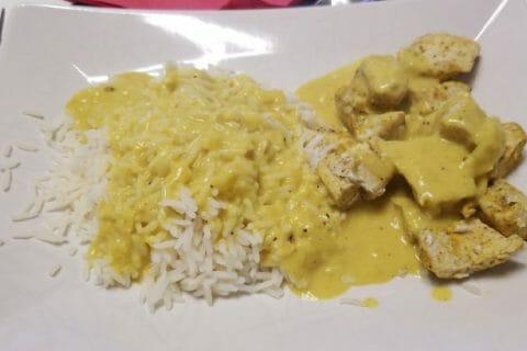 Blancs de poulet sauce moutarde et curry Thermomix par Lili-Orely
