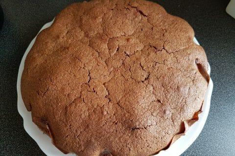 Gâteau macaroné au chocolat Thermomix par drinette02