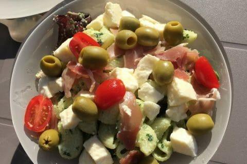 Salade de penne à l'italienne Thermomix par Cassandra_7