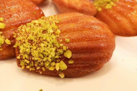 Madeleines au safran, orange et miel au Thermomix