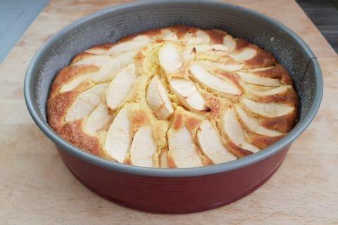 Gâteau aux pommes et mascarpone Thermomix par Vanouch18