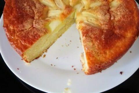 Gâteau aux pommes et mascarpone Thermomix par nathys