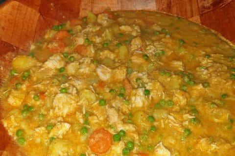 Poulet Thaï au curry Thermomix par mymy08