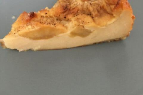 Flognarde aux pommes (clafoutis aux pommes) Thermomix par Maelona