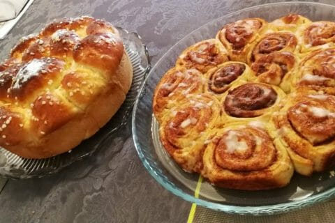 Cinnamon roll Thermomix par Coco68