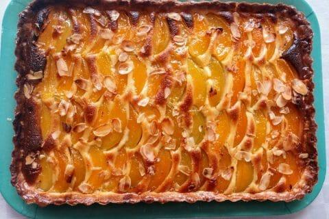 Tarte amandine aux abricots Thermomix par katouche