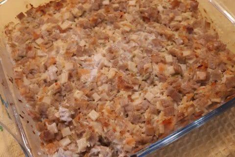 Gratin de crozets aux courgettes et saumon fumé au Thermomix
