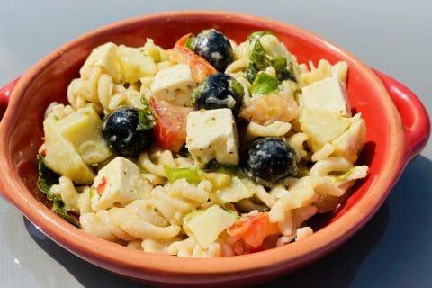 Salade de pâtes à la grecque au Thermomix