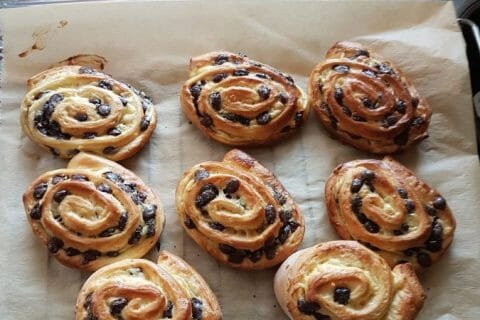 Pains aux raisins Thermomix par Agnes68f