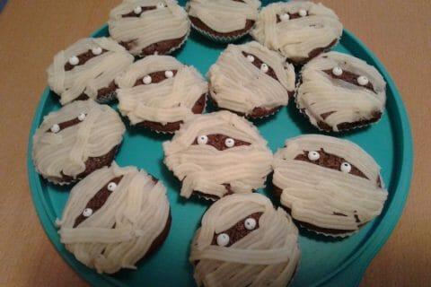 Cupcakes momie Thermomix par gini000