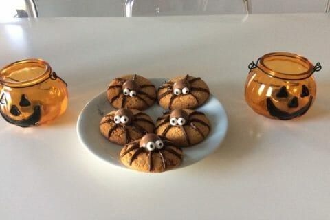 Spider cookies (cookies araignées) Thermomix par faurelie