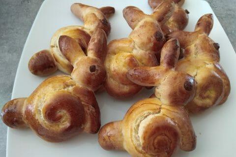 Brioches lapin de Pâques au Thermomix