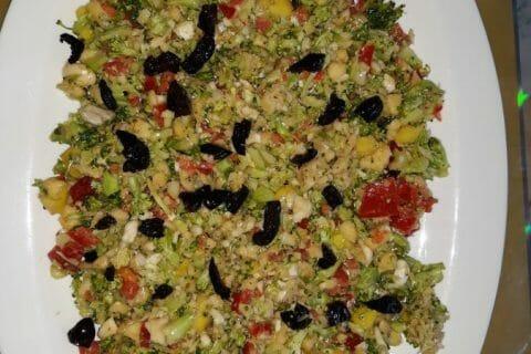 Salade de brocolis Thermomix par Abbas
