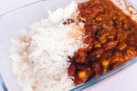 Chili con carne au Thermomix