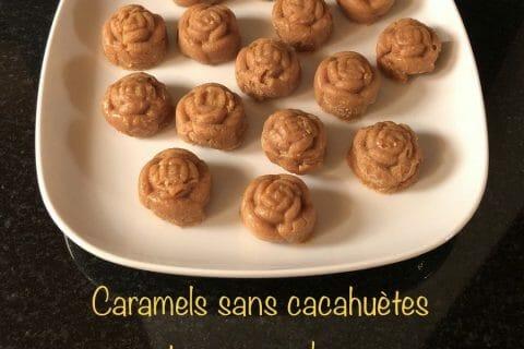 Caramels aux cacahuètes enrobés de chocolat Thermomix par Aurélie