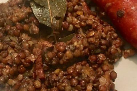 Lentilles et ses saucisses Thermomix par mozval