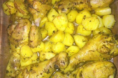 Poulet rôti à la Marocaine Thermomix par Bibiche Lou