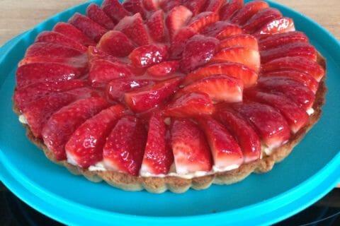 Tarte aux fraises Thermomix par Nine2303