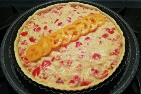 Tarte au thon, tomate et moutarde au Thermomix