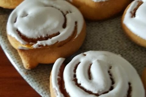 Cinnamon roll Thermomix par oxane62