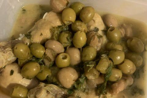 Tajine de poulet aux olives au Thermomix